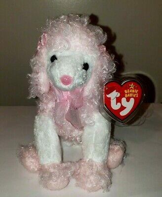 Ty Beanie Baby ~ DIVALIGHTFUL the Poodle Dog ~ MINT with MINT TAGS ~ RETIRED