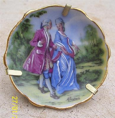 Limoges France Miniature Plate
