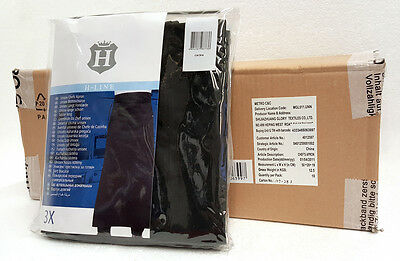 Wholesale Carton Of 10 Triple Packs Of Professional Chef's Long Black Aprons