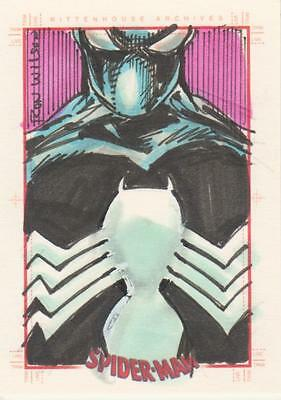 Spider-Man Archives - Wilson  Sketch Card of  Spider-Man # 3