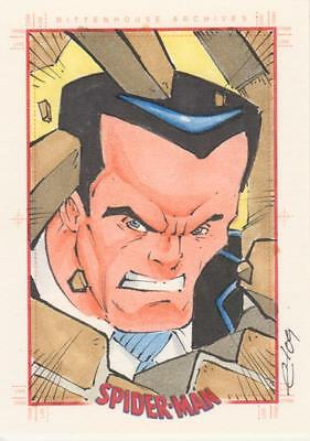 Spider-Man Archives -  Calloway Sketch Card -