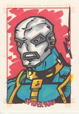 Spider-Man Archives -  Bukauskas  Sketch Card of  Chameleon
