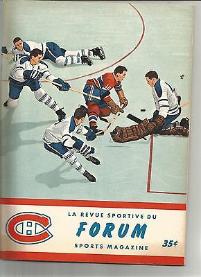 1963 Niagara Falls Flyers Canadiens Juniors NDG Monarchs St Lambert Program