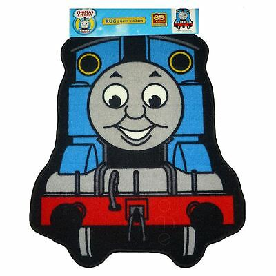 Thomas The Tank Engine Express Shaped Rug Blue New Kids Bedroom Rug