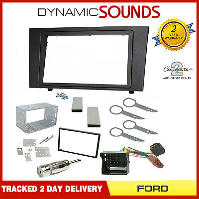Double Din Car Stereo Radio Facia Fascia Panel Fitting Kit For Ford Mondeo 03-07