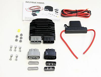 Aftermarket Shindengen Mosfet Fh020Aa Regulator/rectifier Kit Replaces Fh012Aa