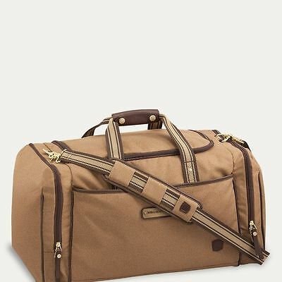 Noble Outfitters Signature Duffle Bag - Great for Travel - Tobacco Brown