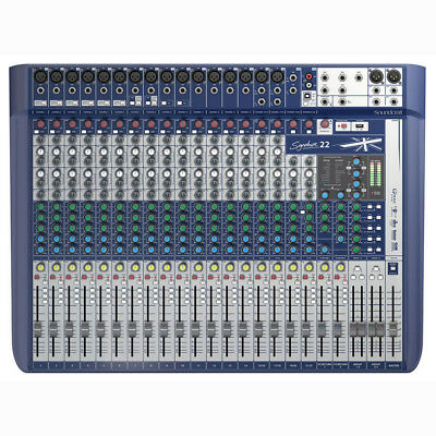 Soundcraft Signature 22 22-input Small Format Analog Mixer w/Onboard Effects New