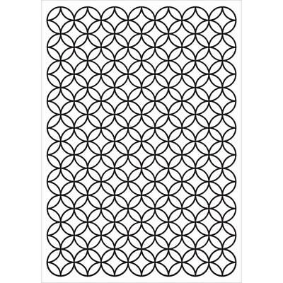 KaiserCraft Embossing Folder Stained Glass 10.6cm x 15cm