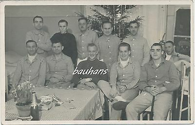 foto soldaten wehrmacht weihnachten im lazarett 2 wk g352. Black Bedroom Furniture Sets. Home Design Ideas