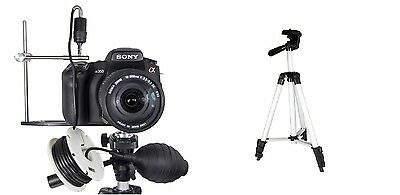 SRB NEW Self Take DSLR Carp Fishing Photo Camera Kit + Travel Tripod