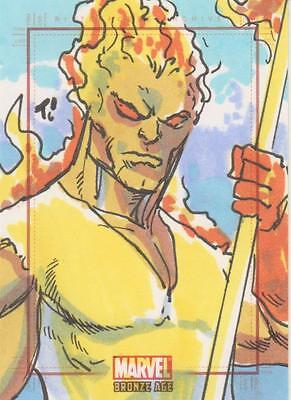 Marvel Bronze Age -  Color Sketch Card by Rodriguez