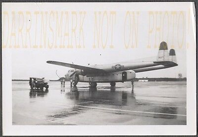 Vintage Photo US Air Force Flying Boxcar Fairchild C119 Airplane 638029