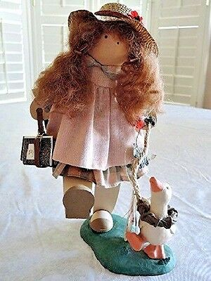 Lizzie High DOLL 1995 Signature Edition 10th Anniversary Handcrafted Wood 11""