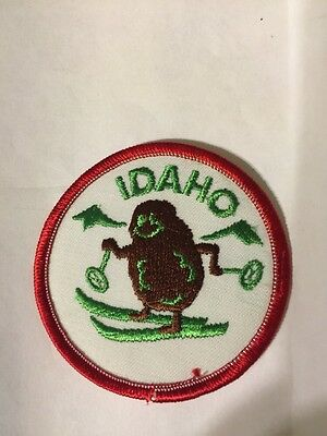 Vintage Idaho Police Patches Lot of Two Soda Springs