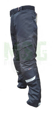 RST Alpha IV 1727 4 Mens Textile Waterproof Motorcycle Jeans Trousers - Black