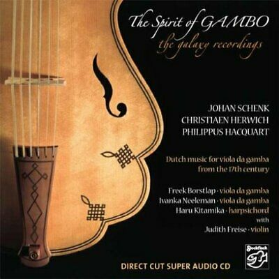 STOCKFISCH | The Spirit Of Gambo - The Galaxy Recordings SACD oop