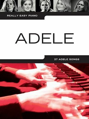 Learn To Play Really Easy Piano Adele Sheet Music Book 19 21 25 Best Of Hello