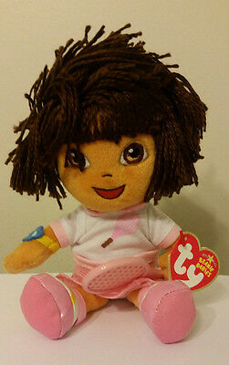 Ty Beanie Baby ~ DORA the EXPLORER (Del Tenis) - MINT with MINT TAGS ~ NEW