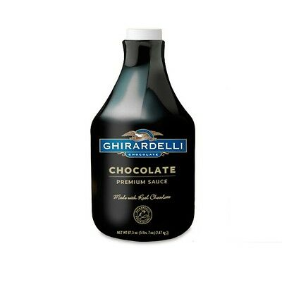 Ghirardelli Black Label Chocolate Sauce-87.3 oz Bottle