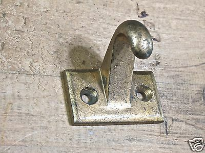 window sash lift drawer pull old vintage 1900's cast brass rustic window