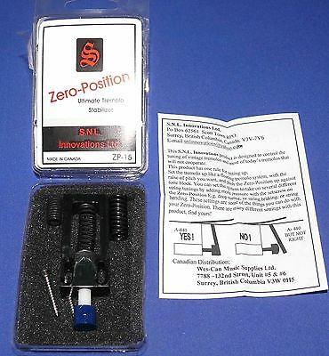 SNL Innovations * Guitar Zero-Position Ultimate Tremolo Stabilizer NEW SEALED