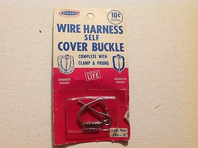 """Vintage New In Package Penn Wire Harness Self Cover Buckle (3/4"""")"""