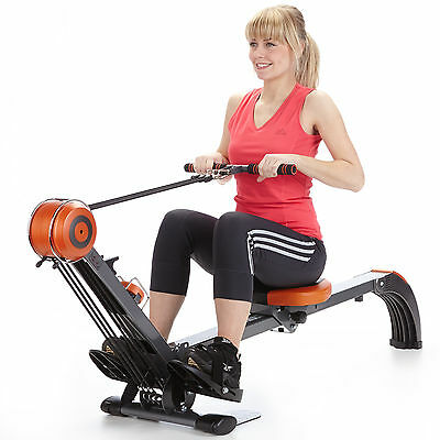 skandika Regatta Multigym Poseidon Rowing Machine Foldable Rower RRP £269 New