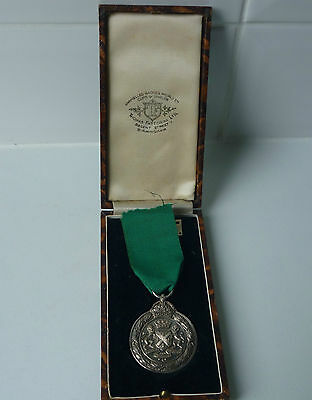Unnamed Plymouth City Constabulary Good Service Medal in original box of issue