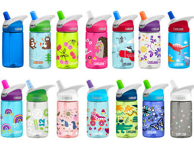 Camelbak Kids Eddy Anti-Spill Water/Drinks Hydration Bottle New Designs