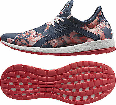 Adidas Pure Boost Ladies Running Shoes - Navy