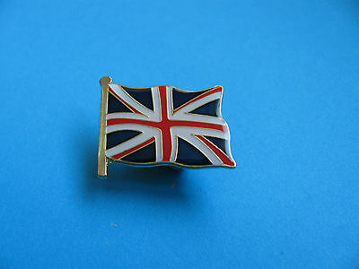 Union Jack Flag Pin Badge. VGC. Unused. Enamel.