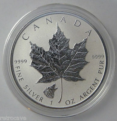 2016 Canadian 1 oz Silver Maple Leaf Wolf Privy .9999 Silver Bullion Coin