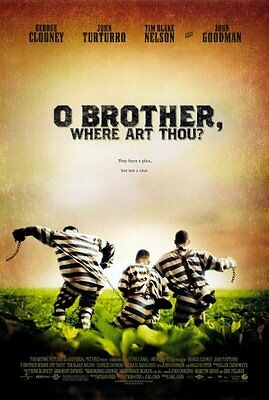 """O Brother Where Art Thou Poster #01 24x36"""""""