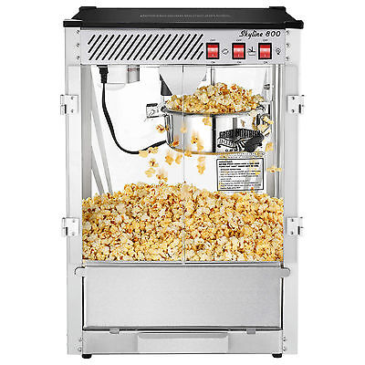 Great Northern Popcorn Bar Style Popcorn Popper Machine Commercial,  8 oz