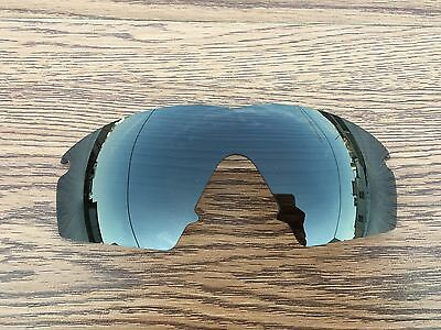 New (Dark Grey) Black  Polarized Replacement lenses for-Oakley M Frame strike