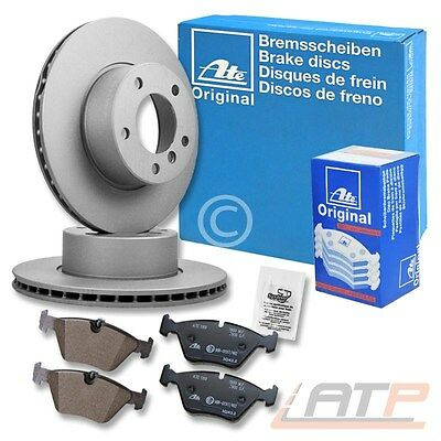 Genuine Ate Brake Discs + Pads Front Axle Vented Ø280 Opel Vauxhall Astra Mk 5 H