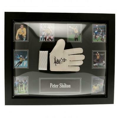 Peter Shilton - Framed Signed Goalkeeper Glove