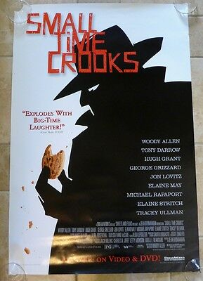 SMALL TIME CROOKS Original MOVIE POSTER