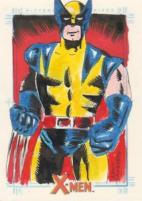 X-Men Archive - Color Sketch Card by Landgraf