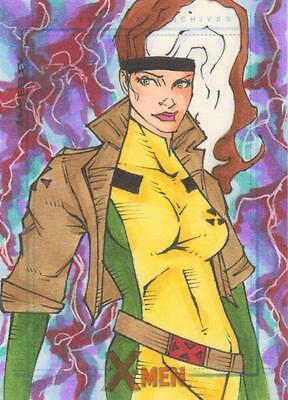 X-Men Archive - Color Sketch Card by Wheeler - Rogue