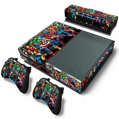 Marvel Avengers Captain Hulk Vinyl Decal Skin Sticker Cover for Xbox One Console