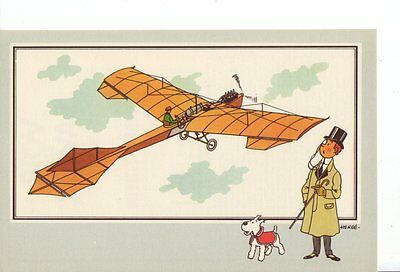 Herge Tintin Chromo Voir Savoir Aviation serie 1 n 3 collection B
