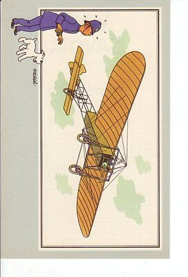 Herge Tintin Chromo Voir Savoir Aviation serie 1 n 4 collection B