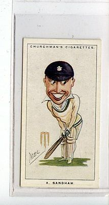 (Jc6749-100)  CHURCHMANS,MEN OF THE MOMENT IN SPORT,A.SANDHAM,1928,#22