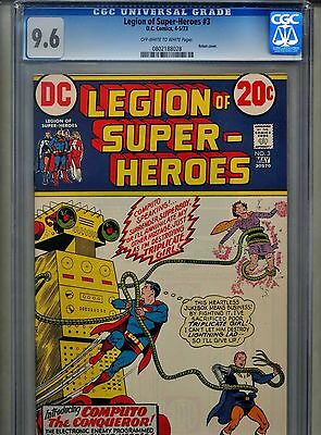 Legion of Super-Heroes #3 CGC 9.6 (1973) Superboy