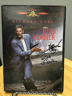 Red Corner Dvd Signed By Bai Ling
