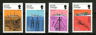 South Georgia 1976 Anniv Discovery Investigations Set 4