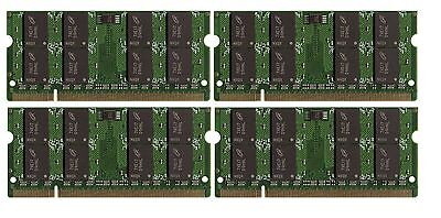 4x4GB 16GB Memory PC2-6400 SODIMM For IBM Lenovo HP Dell Laptop NEW BULK LOT