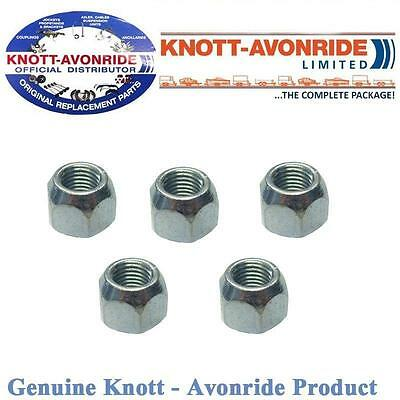 Knott Avonride Trailer Conical Wheel Nuts M12 574004 SB012 x5
